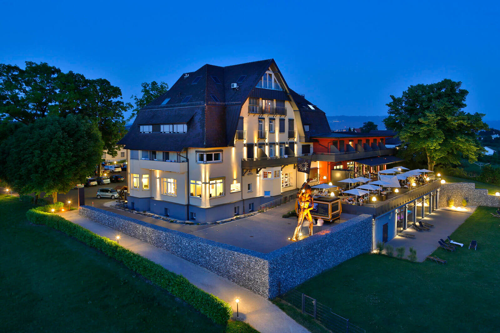 Bodensee-Hotel Sonnenhof in Kressbronn zwischen Lindau und Friedrichshafen am Bodensee